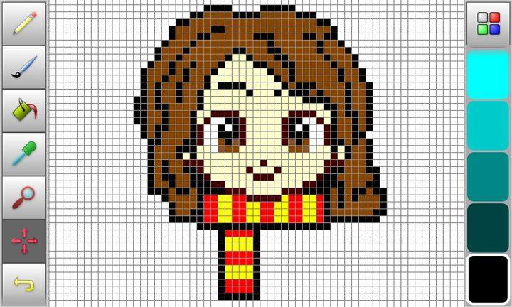 Pixel Art Terminé Hermione Wattpad