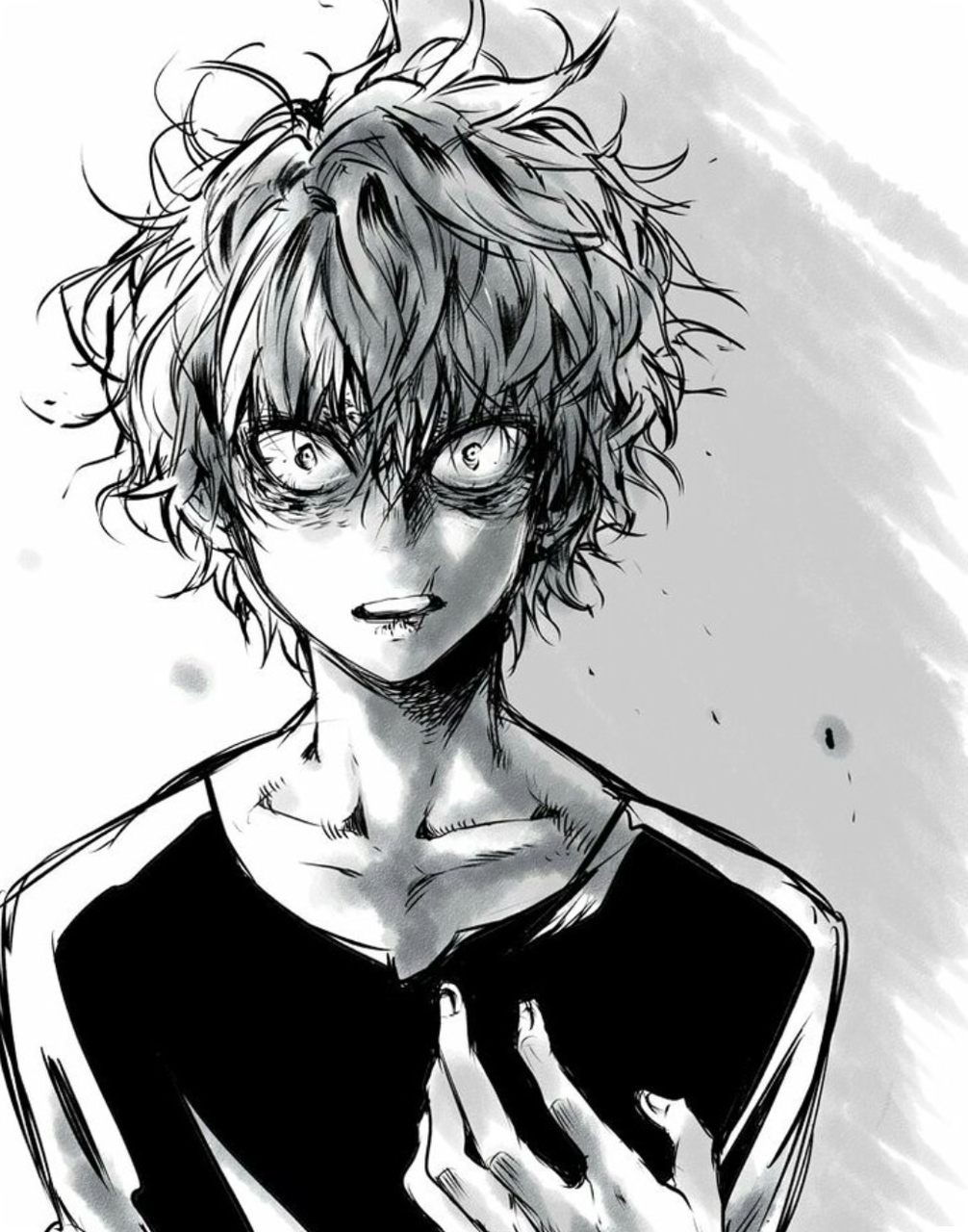 """""""Why the hell you'd take so long!?"""" He complains, his surprised look softening a bit at the sight of me"""