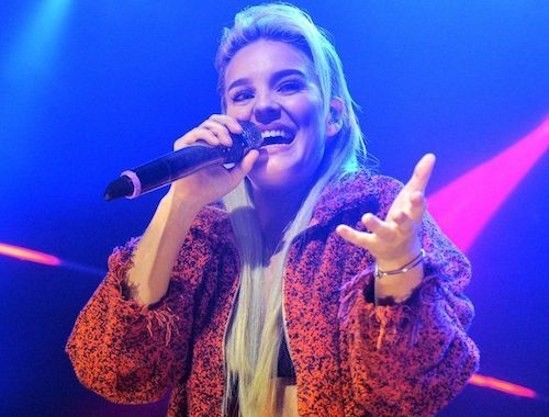 """British vocalist Anne-Marie began making waves in 2015 with """"Do It Right"""" on Rocket Records"""