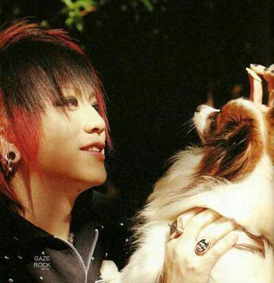 Find someone that looks at you the way ruki looks at koron