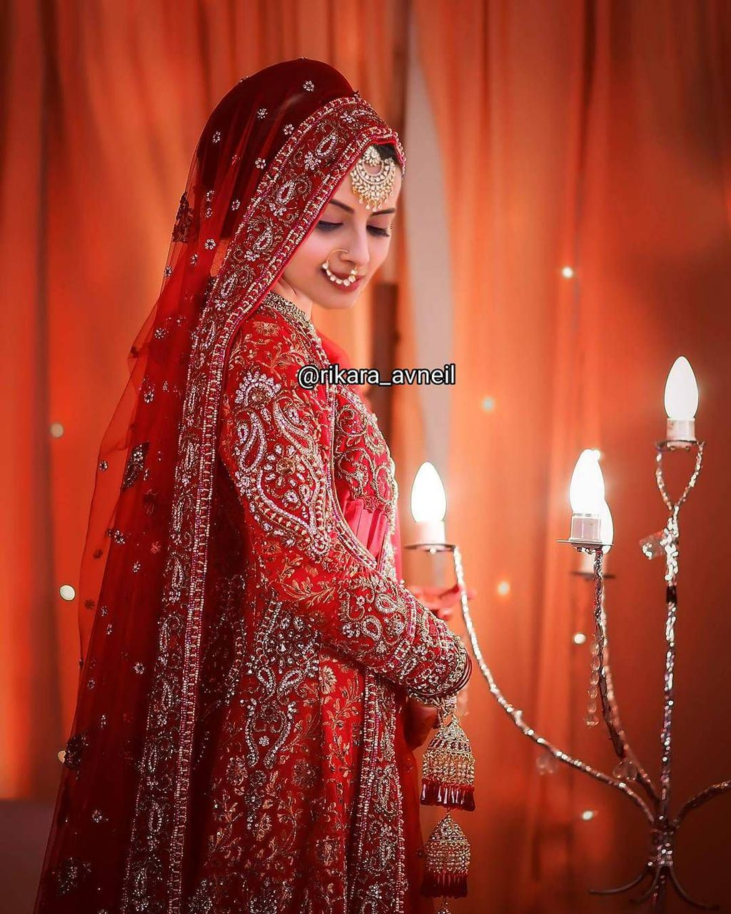 but when the bride entered her sasural's house, anika came downstairs and jhanvi lifted the bride's veil and the face was revealed: