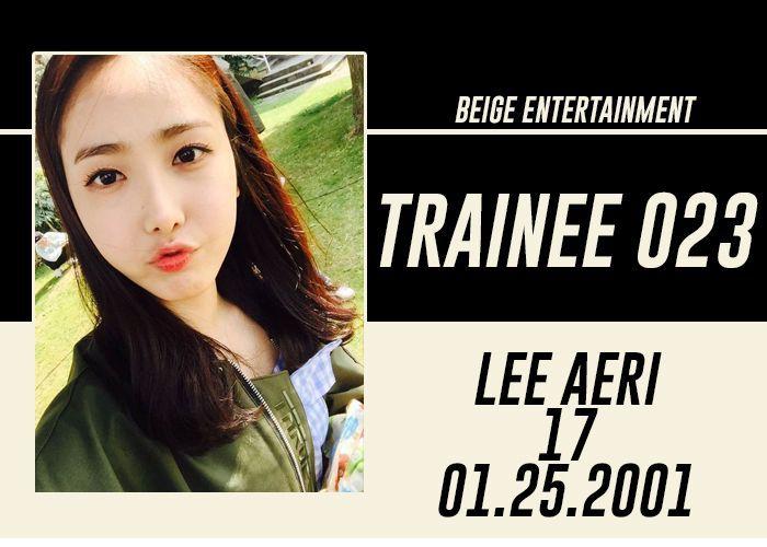 FULL NAME: Lee Aeri, Anna Lee