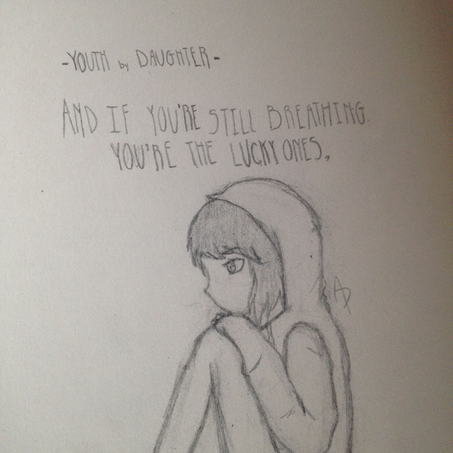 A Little Lyric Drawing Of Youth By Daughter