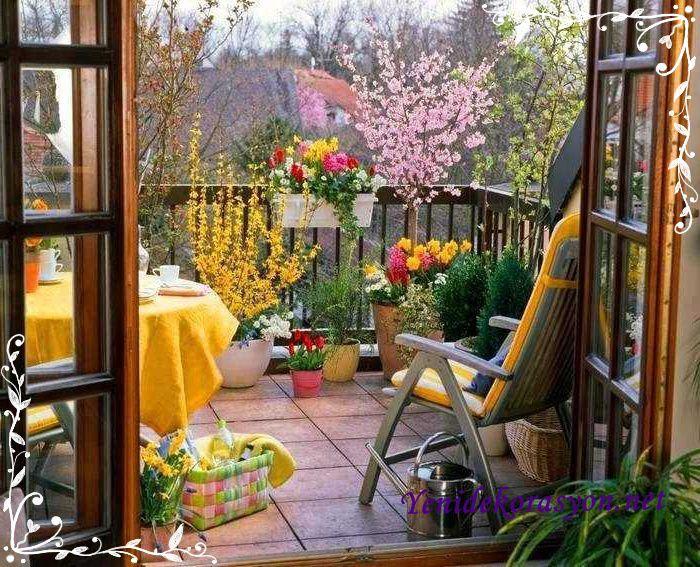 Обустройство открытого балкона - обустройство и дизайн интер.