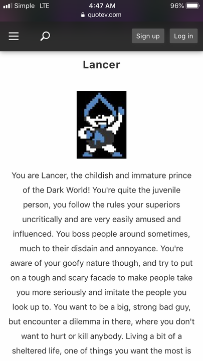Erratic Extras III 0 - WHICH DELTARUNE CHARACTER ARE YOU??? - Wattpad