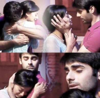"""  Now you get time to meet your wifey""Swara complains keeping her arms around sanskar's neck"