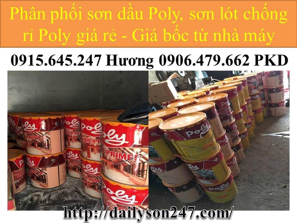 Pha màu sơn chống rỉ, sơn dầu, sơn epoxy giá rẻ tại Bình Thuận