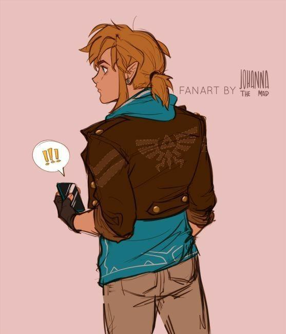 Legend Of Zelda Random Modern Link Botw Wattpad