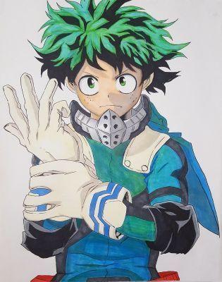My Anime Drawings Midoriya Izuku Deku Wattpad