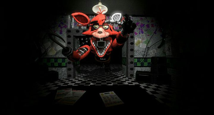 My SFM Art and Animations - Withered Foxy Jumpscare - Wattpad