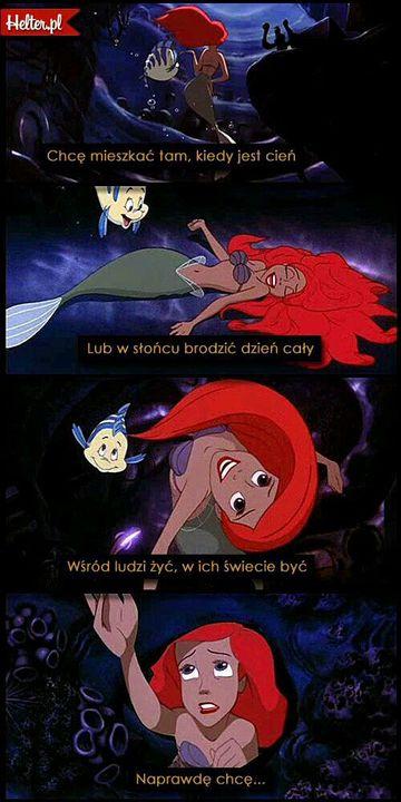 Potęga Bajek Czyli Cytaty Z Disneya Mała Syrenka Wattpad