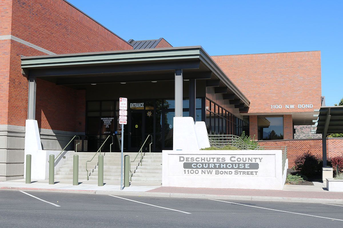 The Deschutes County Courthouse and District Attorney's Office