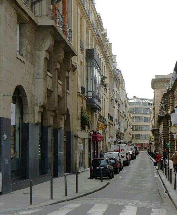 La rue Guénégaud actuellement
