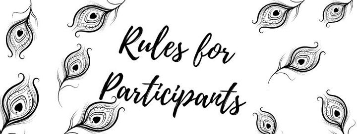 Here are the rules that the participants of this award contest must follow