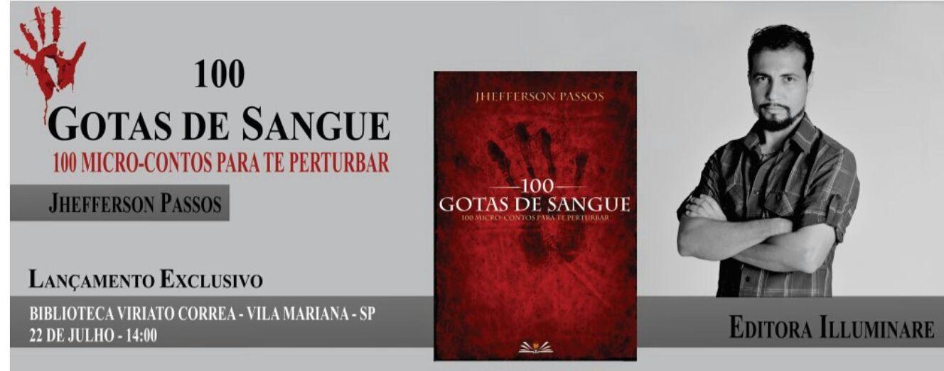 E ainda em São Paulo acontecerá também o lançamento da Antologia ENTRE O BEM E O MAL-CONTOS SOMBRIOS da Editora Illuminare, onde participo como prefaciador e com um conto!