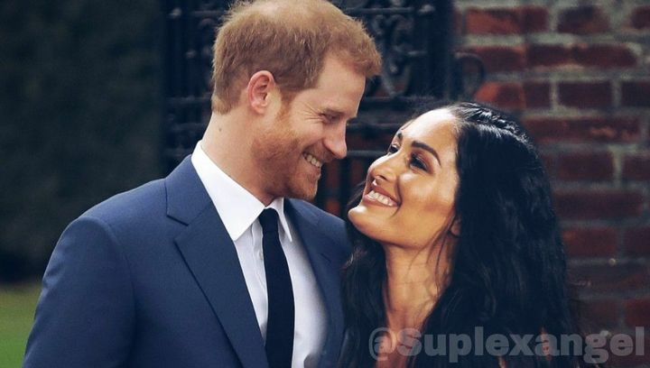 Nikki Bella and Prince Harry Are Technically 17th Cousins