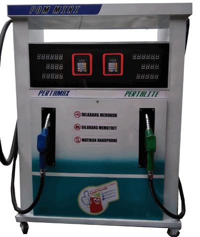 Harga pom mini digital 2 nozzle 2019 Rp