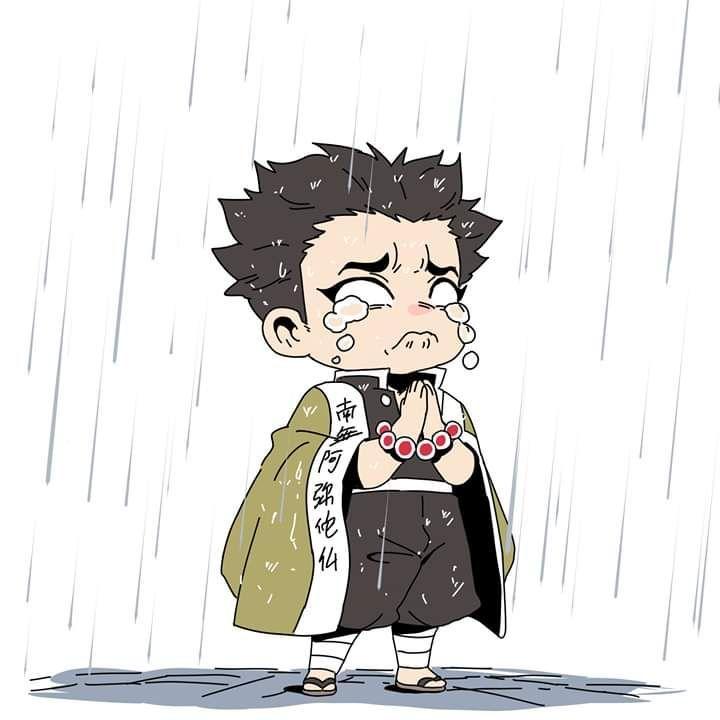 Demon Slayer Kimetsu No Yaiba Photo Memes Hashira In Rain