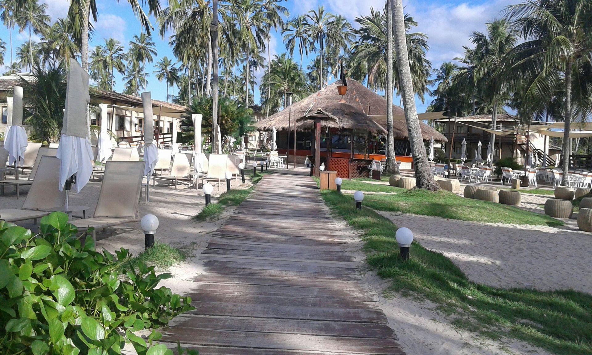 Gran Oca de Maragogi Resort ofrece a los huéspedes todas las comidas Buffet, aquagym, bingo, clases de baile y espectáculos nocturnos entre otros