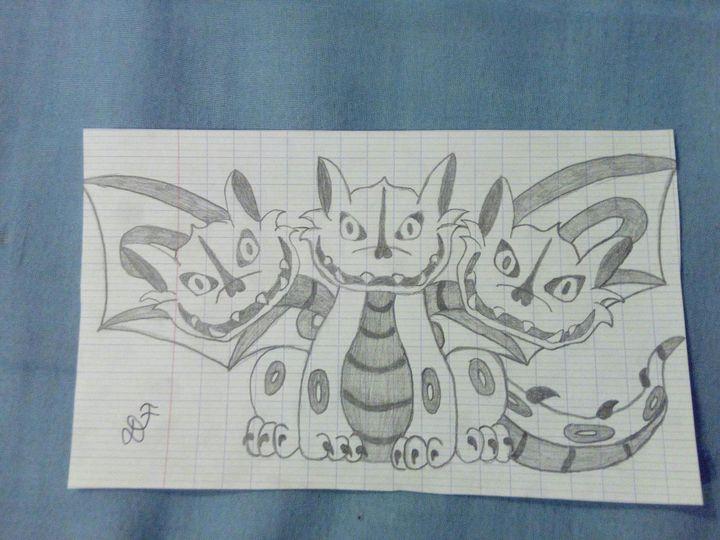 My Dragon Draw Touffu Et Dessin Pour Une Pote Wattpad