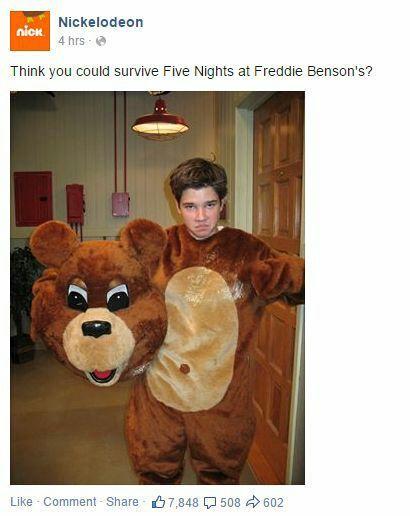 """Why you copy me Freddy Benson?"""