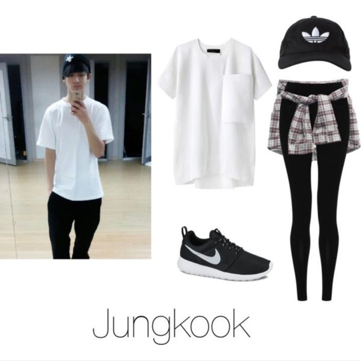 78bea079f6b10 BTS' 8th Member Outfits AMBW - Dance Practice With Jungkook - Wattpad