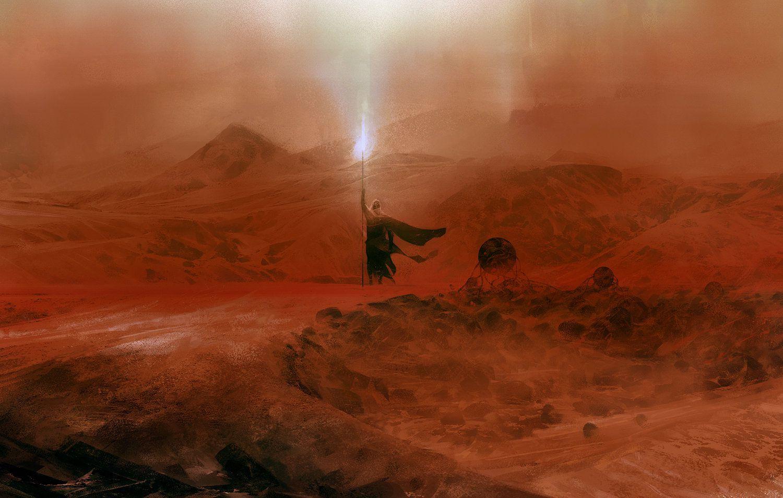 The Dune series, by Frank Herbert (1965)