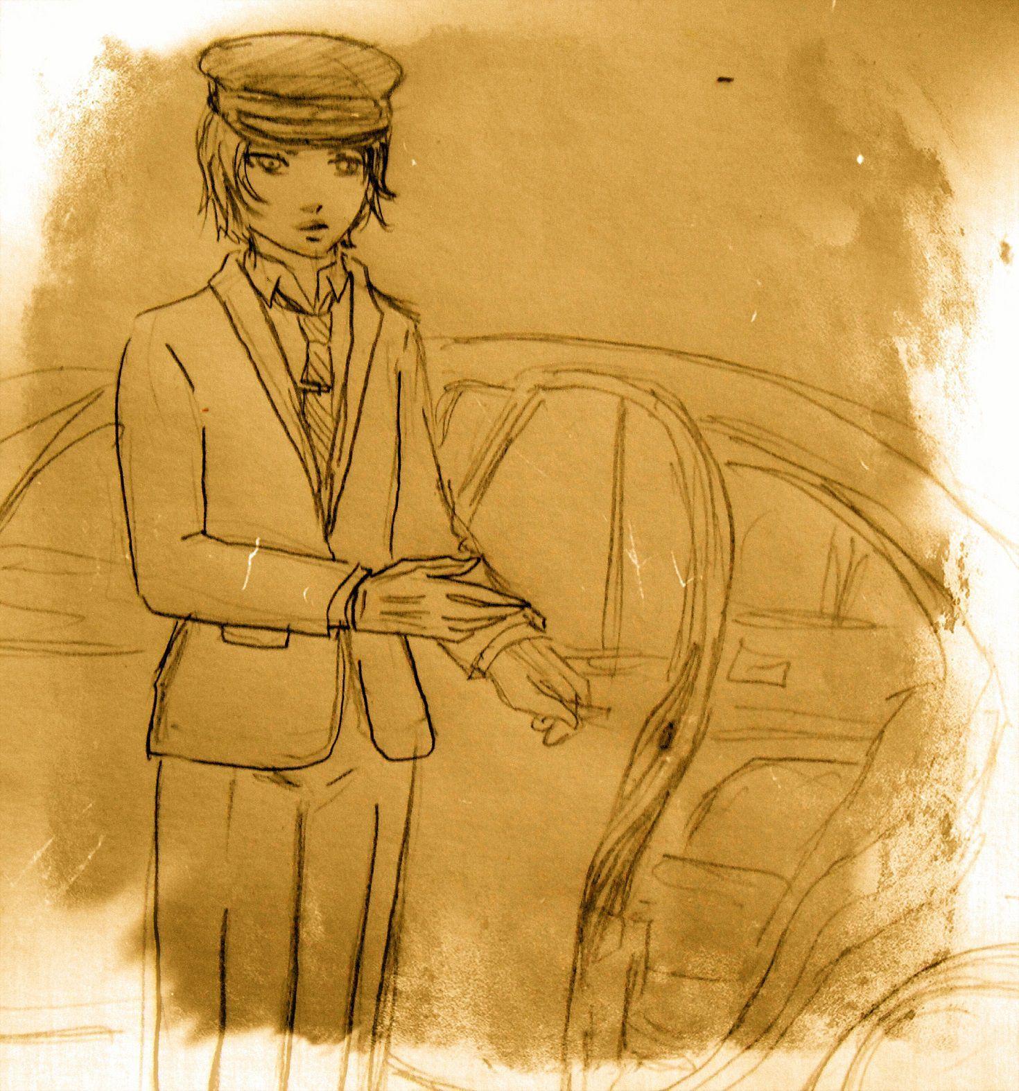 Bill dejó que su esposa entrara primero después de que el jovenzuelo se presentara como Arturo y les anunciara que estaba ahí por ellos, pese a que Bill lo reconocía como el conductor de Theo y también al auto