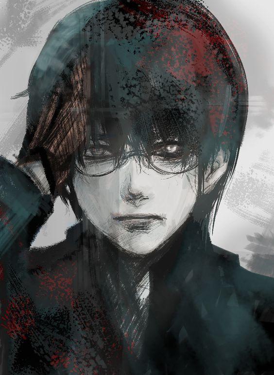 Black reaper kaneki cosplay