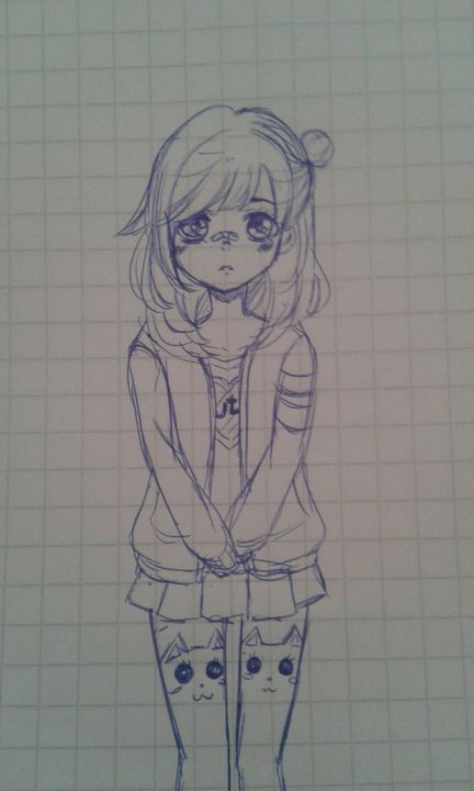 ♢Mis dibujos Anime (•ヮ•) - Un dibujo(? - Wattpad