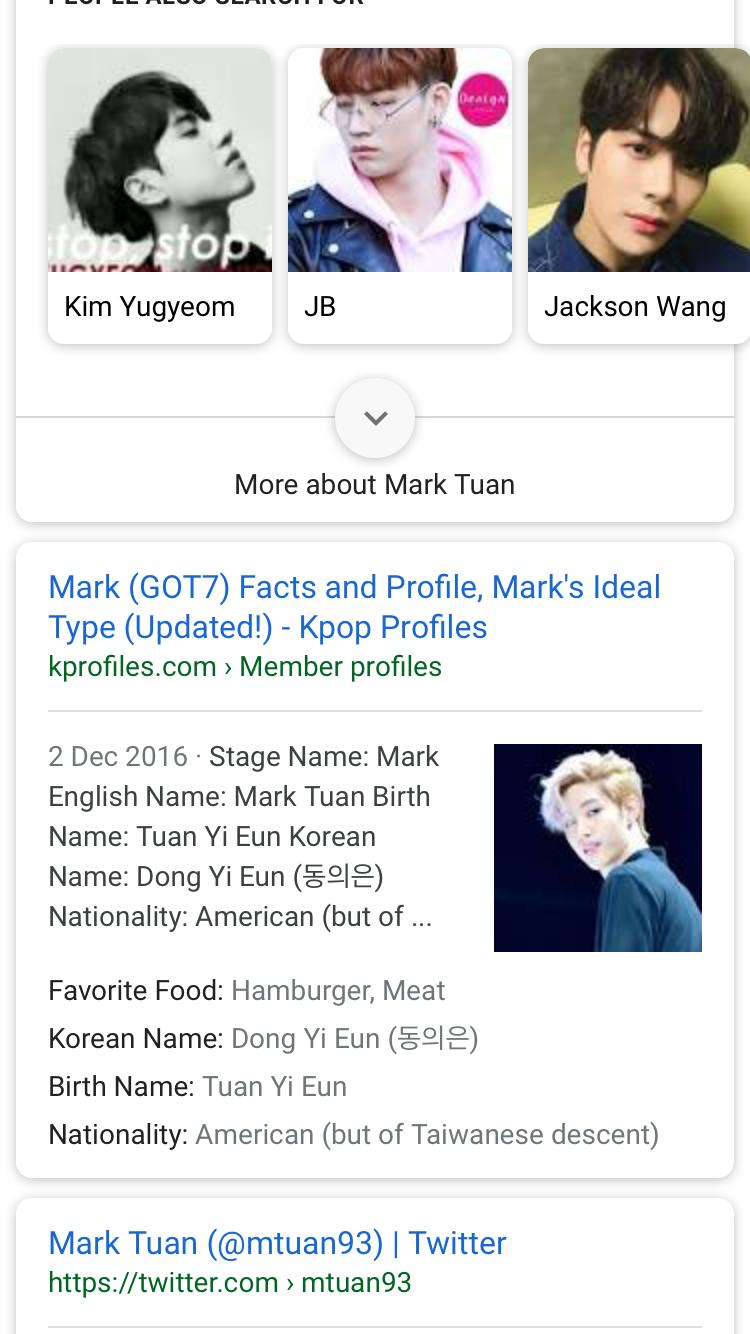 Jackson Wang Ideal Type