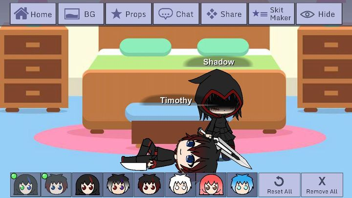 There's the backstory since Shadow had a messed up past
