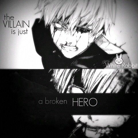 The Villainis Justa Broken Hero