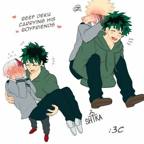 My Hero Academia Pictures Deku Princess Carrying