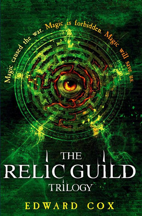 The Relic Guild Trilogy has been described in varying ways since the release of its first book back in 2014, and positively so, I'm pleased to say