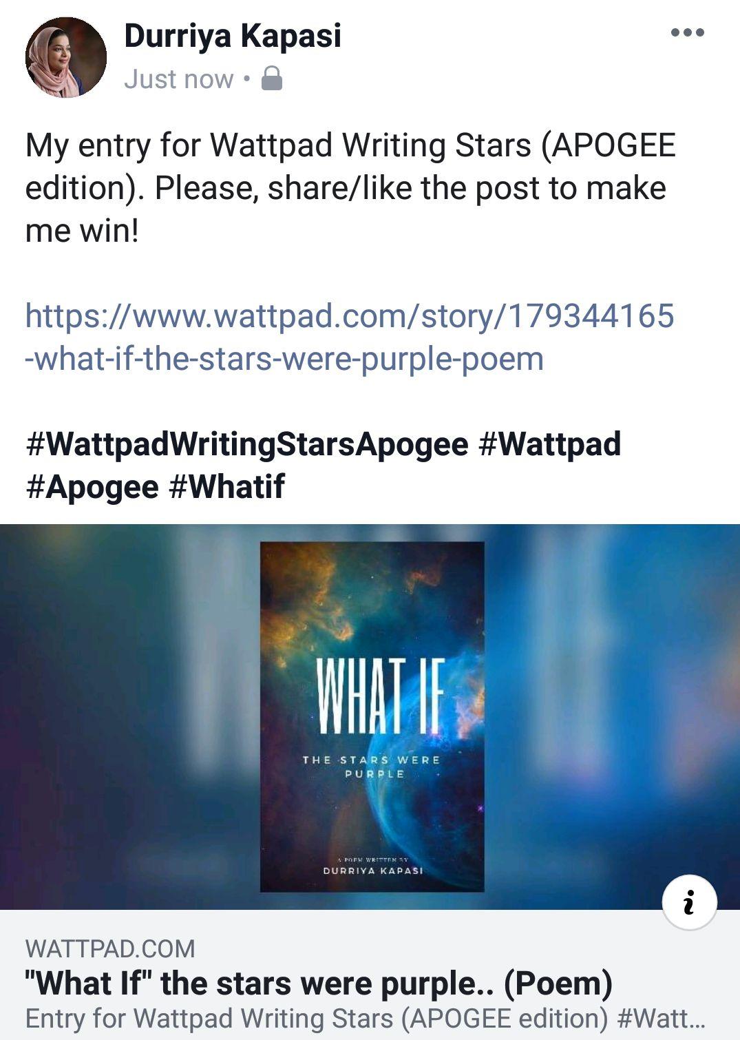 Wattpad Writing