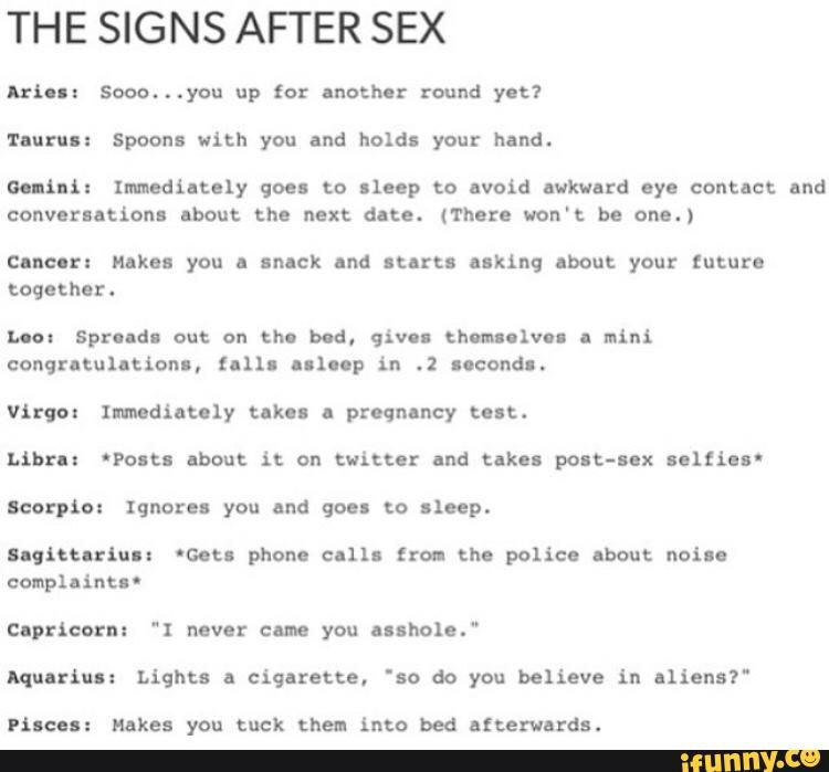 Pisces and cancer in sex