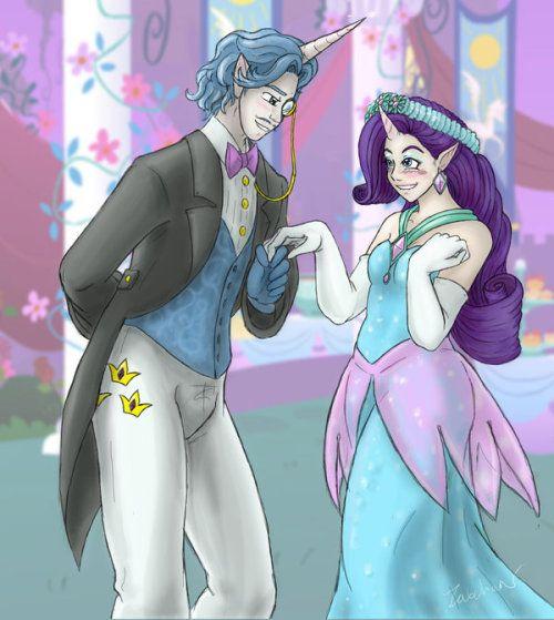My Little Pony Wedding: My Little Pony Fan Fic. Canterlot Wedding. With A Twist