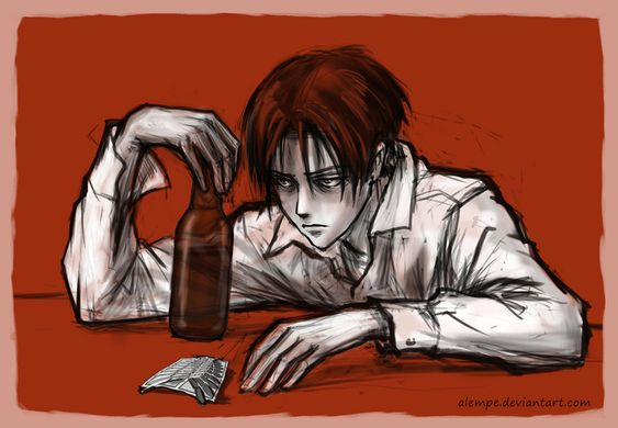 Levi X Innocent Reader Deviantart
