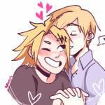 I has found Rare pair art of an extremely underrated ship((It's bad quality I'm sorry lol))