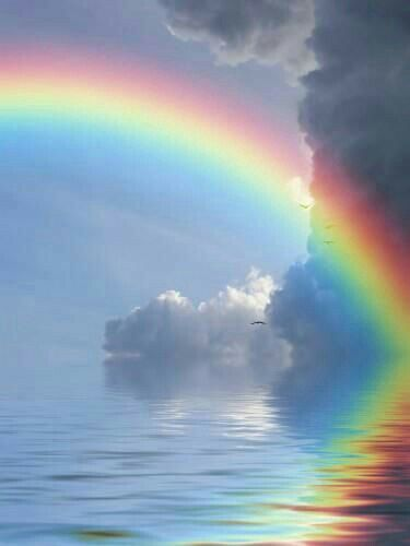 Ye were the rainbow after incessant rains ennui!