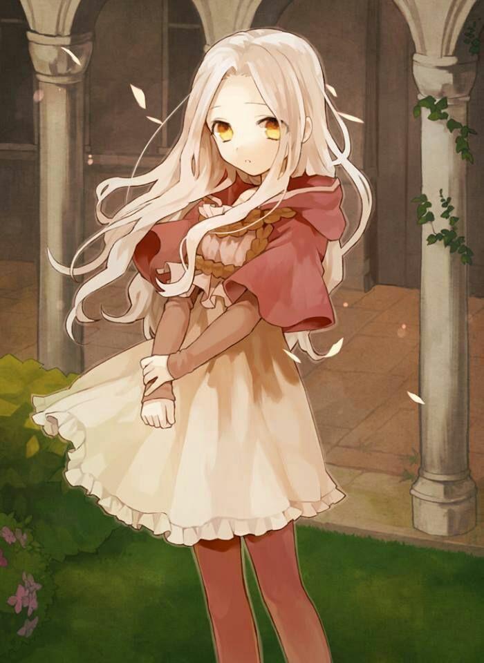 And instead of a sword like Luna she had a gun sword
