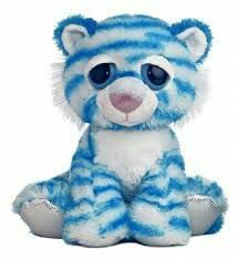 I look around for a few minutes before Michael approaches me with a stuffed tiger in his hands