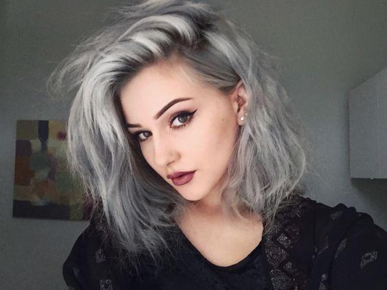 Best 25+ Silver hair ideas on Pinterest   Gray silver hair, Silver ...