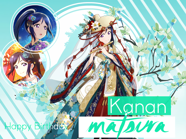 Happy Birthday, Kanan-chan! We love you as much as Mari does-