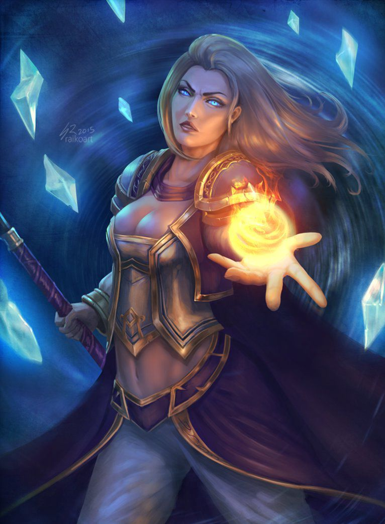 Download sleeping Lady Sylvanas and Jaina Proudmoore  exposed pic