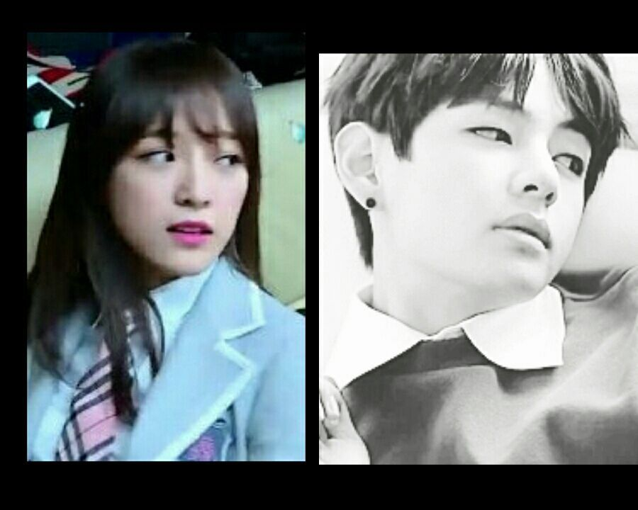 Tahu-tahu di ambang pintu ruang rawat Taehyung tampak seorang yeoja yang asing bagi mereka tengah berdiri terpaku di sana sembari menatap keduanya dengan tatapan kosong