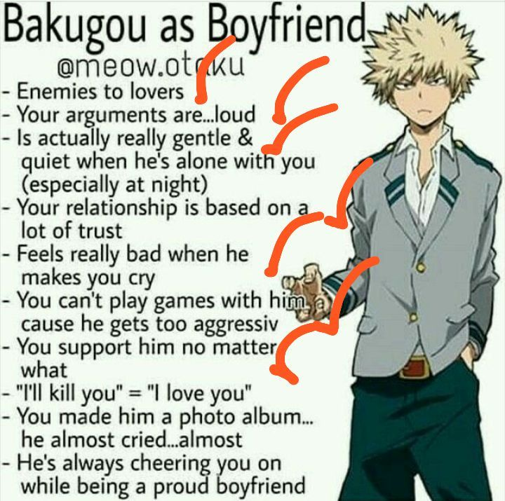 Ignition: Katsuki Bakugou x Reader - Bakugou As A Boyfriend - Wattpad