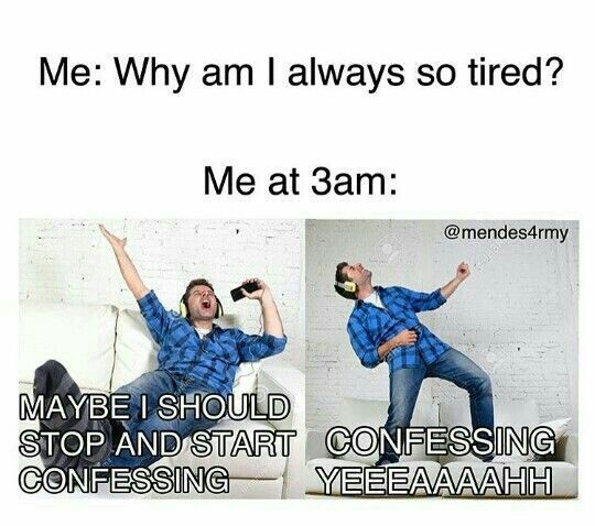 If this isn't me I don't know what is😂 Whenever I'm at school I'm kinda sluggish and tired but as soon as I take one step into my house (I'm usually home alone after school) I suddenly am able to belt out my Spotify playlists and dance around