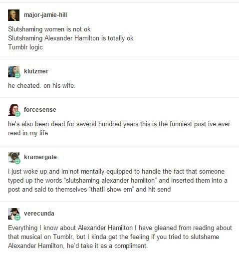 Hamilton Memes And Posts Tumblr Logic 1 Wattpad